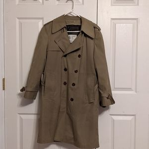 Vtg London Fog Lined Trench Coat